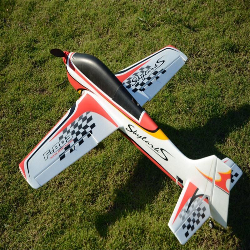 RC avión deporte RC avión 950mm Wingspan EPO F3A FPV avión KIT de avión de control remoto para niños al aire libre modelos de juguete rojo azul verde