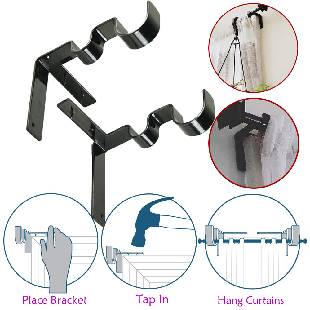 Shower Curtain Rods Towel Bar