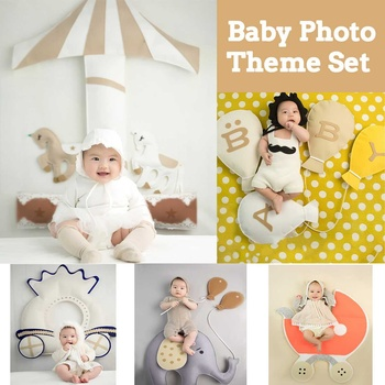 Baby Photography Clothing 3-12 Month Baby Variety  Theme Costume Studio Photo Props Clothes+Props New
