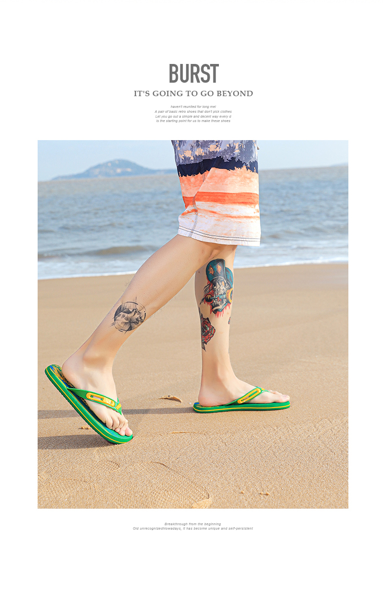 H57aa1574f768412f8b2b9399d6b78824A - VESONAL Summer Graffiti Print Slippers Men Shoes Flip Flops Slipers Male Hip Hop Street Beach Slipers Casual Flip-flops