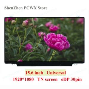 15,6 дюймовая универсальная тонкая ЖК-панель для матрицы Acer Aspire 15 HP ASUS Dell Lenovo экран для ноутбука eDP 30 контактов FHD 2K 1920*1080 60 Гц