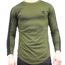Koszulki sportowe z długim rękawem mężczyźni siłownia koszula mężczyźni running tshirt koszulka uciskowa z długim rękawem mężczyzna tanie tanio XISHA CN (pochodzenie) Wiosna summer AUTUMN Winter Poliester Pasuje mniejszy niż zwykle proszę sprawdzić ten sklep jest dobór informacji