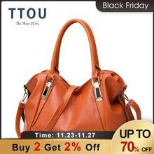 TTOU sac à main de styliste cuir PU pour femmes, sacs pour Portable dames, à bandoulière bureau, sac fourre tout Hobos