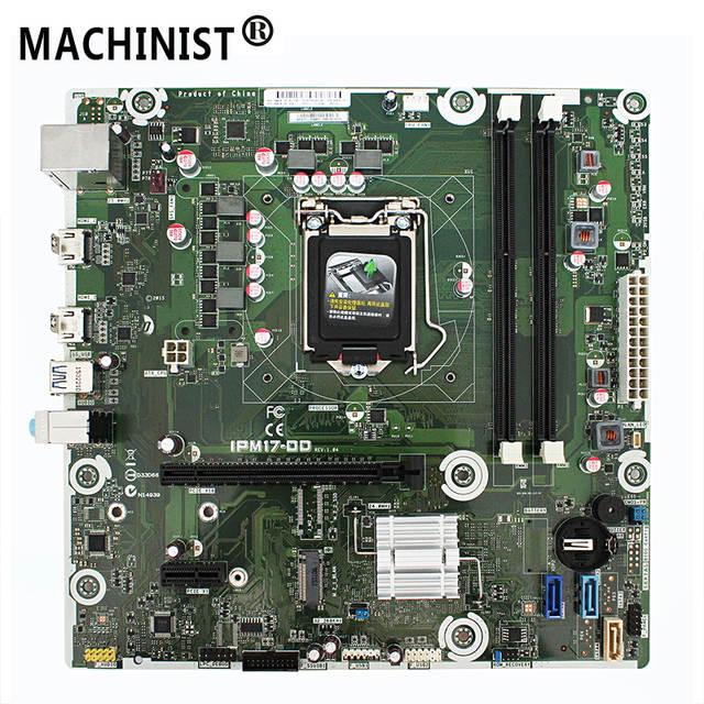 carte mere 1151 ddr3 IPM17 DD REV: 1.04 D'origine Pour HP Envy 750 114 750 167C H110