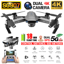 ZLRC SG907 GPS Drone with 4K HD Dual Camera Wide Angle Anti-