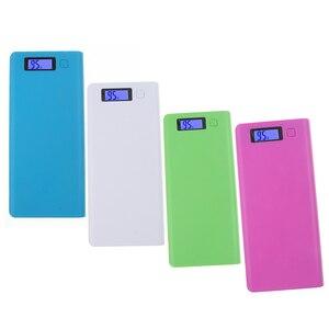 Image 3 - Kebidu Novo Multi cor 8*18650 Caixa de Bateria Shell Banco de Potência De Lítio ion Portátil Display LCD Externo caixa Sem Bateria