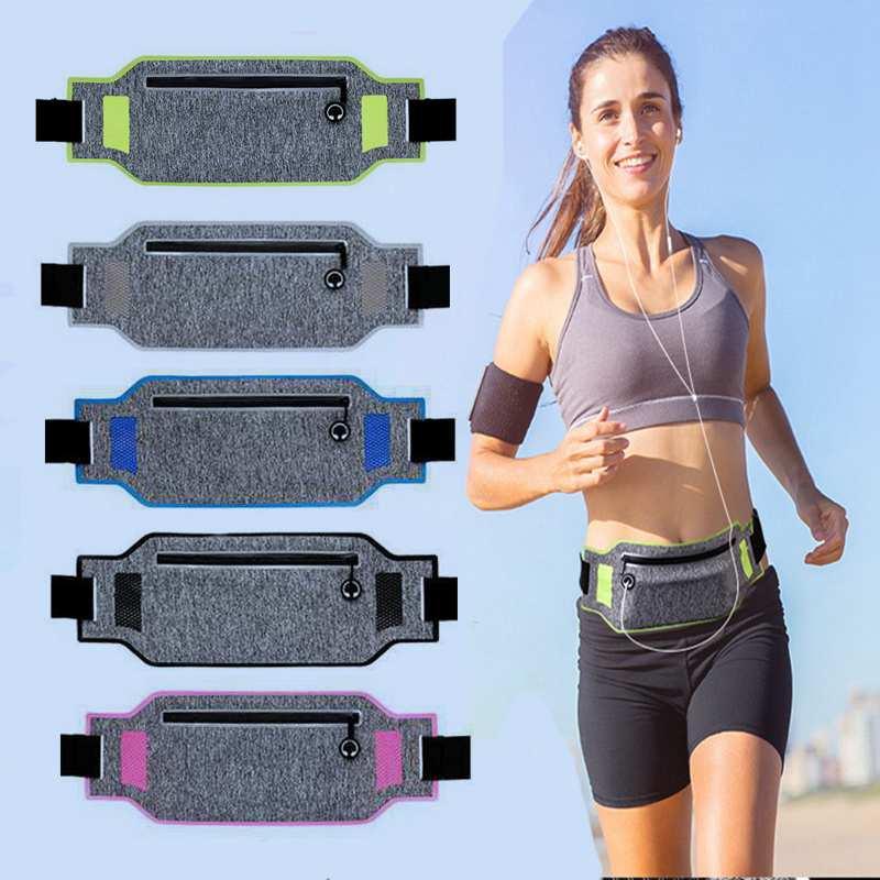 Bolsa de cintura profesional para correr, bolsa para cinturón, funda para teléfono móvil, bolso escondido para hombres y mujeres, bolsas deportivas para correr, bolsa para la cintura