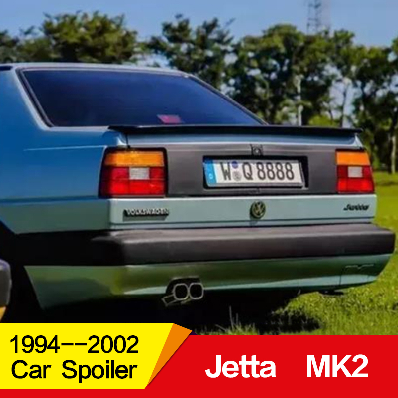 Use for Volkswagen jetta mk2 spoiler 1994  2002 year FRP rear wing ABT style accessories Car refitting Spoilers & Wings     - title=