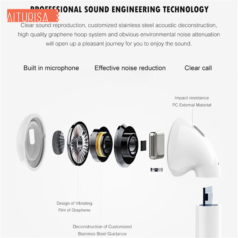 Image 3 - Bluetooth 5.0 Auto Pairing Wireless Headphones Bluetooth Headset with Charging Case For iphone All Smartphone PK i10 i12 i13 i20-in Bluetooth Earphones & Headphones from Consumer Electronics
