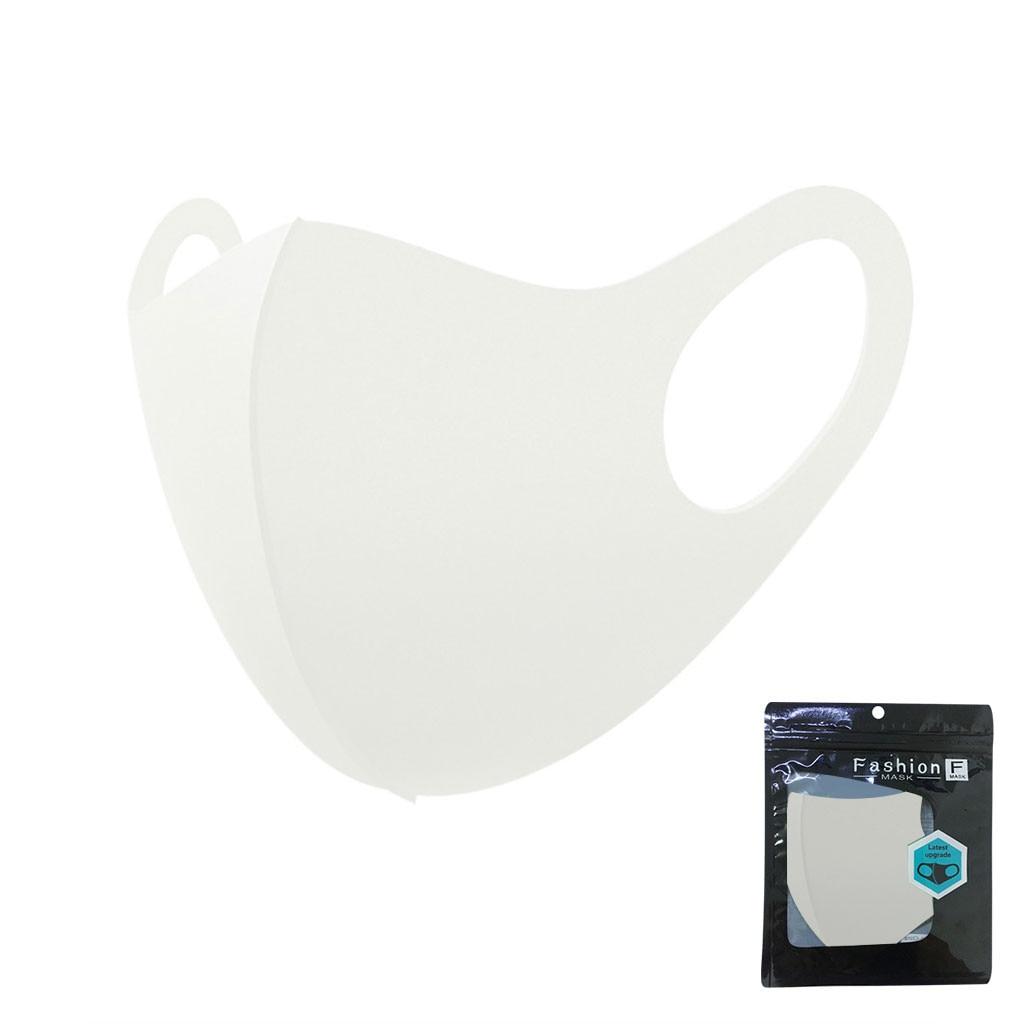 Ice silk mask Anti-Dust Cotton Mouth Face Mask Anti-fog black stereo 3D mask Respirator Men Women Mascarillas Mascaras