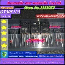 Aoweziic 100% nowy importowane oryginalne GT30F123 30F123 TO 220F ciekłokrystaliczny plazma wspólne rury