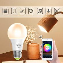 Многофункциональный домашний wifi-патрон, умный свет лампы смарт-Речевая лампа E27 винт умная лампочка