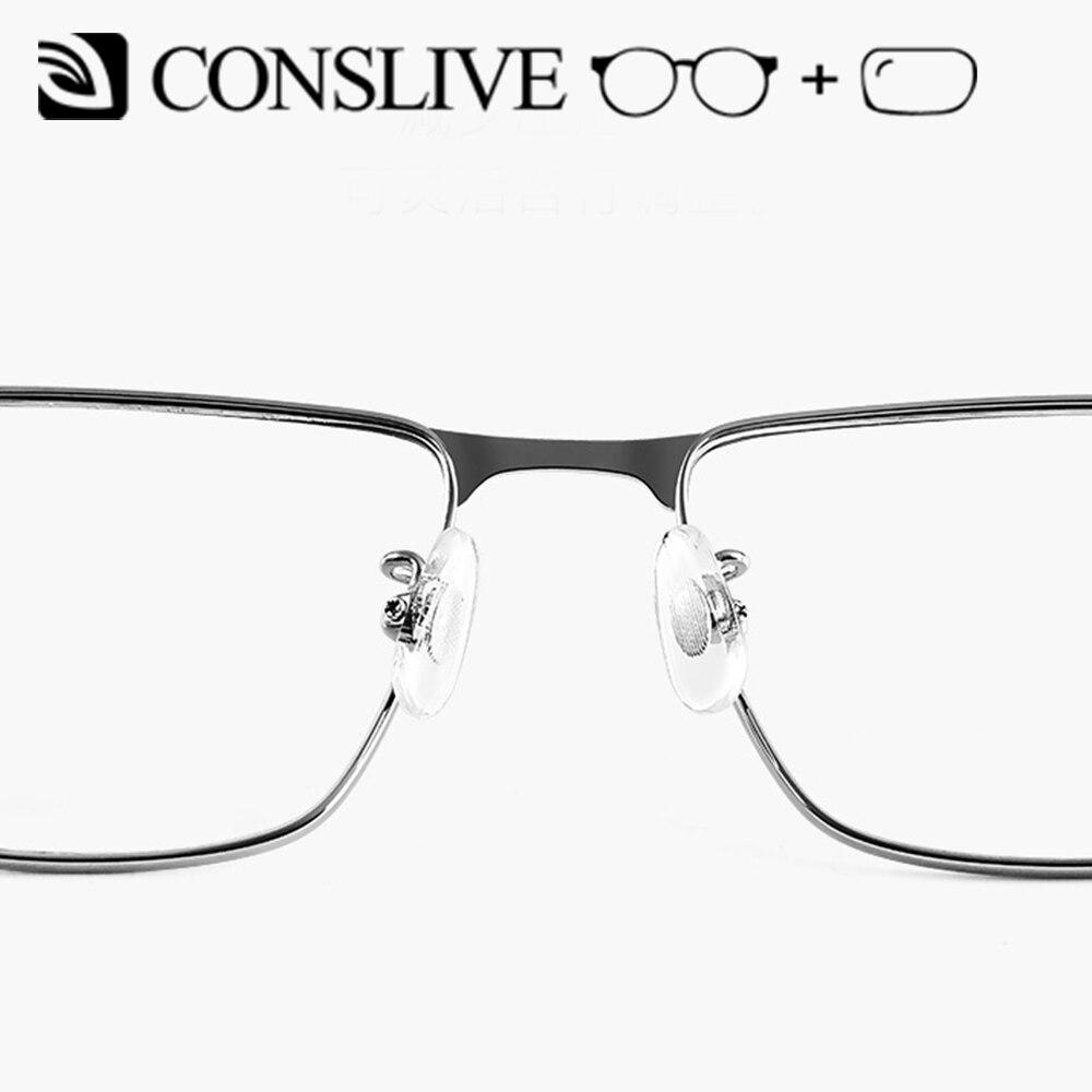 2019 nuevas gafas de prescripción para hombres gafas dióptricas de titanio gafas ópticas multifocales Vintage monturas lentes transparentes J85740 - 4
