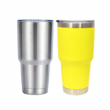 900ML Stainless Steel Mug Insulated Tumbler Double Layer Hydro Flask Camping Vacuum Portable Water Cups with Lid Travel Supplies image