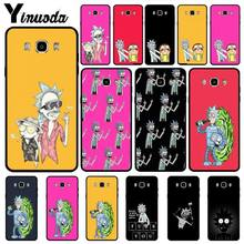 yinuoda pantone candy color case luxury for samsung galaxy note 9 a3 a5 a6 a7 mobile phone accessories Yinuoda Rick And Morty case luxury for samsung galaxy note 9 a3 a5 a6 a7 mobile phone accessories