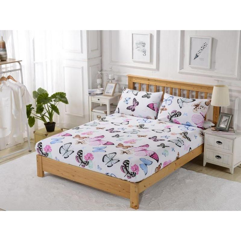 Bed Sheet with elastic band Valtery, 279, 160*200 cm [available with 10 11] bed sheet with elastic band ethel orchid