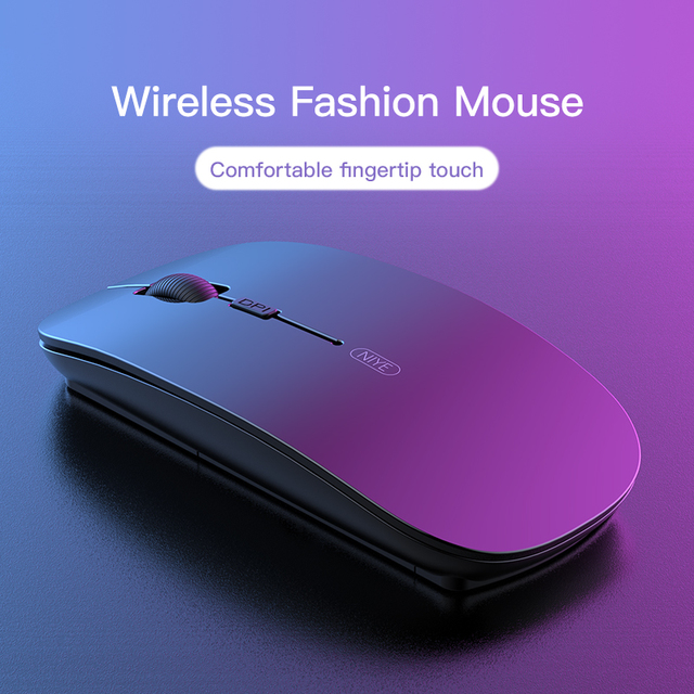 Wireless Mouse Gamer Computer Mouse Wireless Gaming Mouse Ergonomic Mause 4 Buttons USB Optical Game Mice For Computer PC Laptop 4