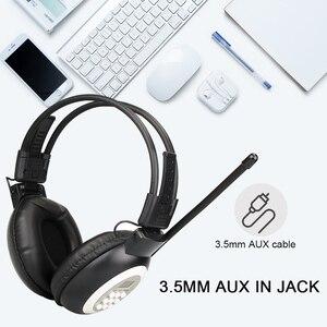 Image 3 - Retekess TR101 Walkman kulaklık radyo FM Stereo kulaklık radyo alıcısı dijital FM işitme koruyucu kulaklık desteği AUX girişi