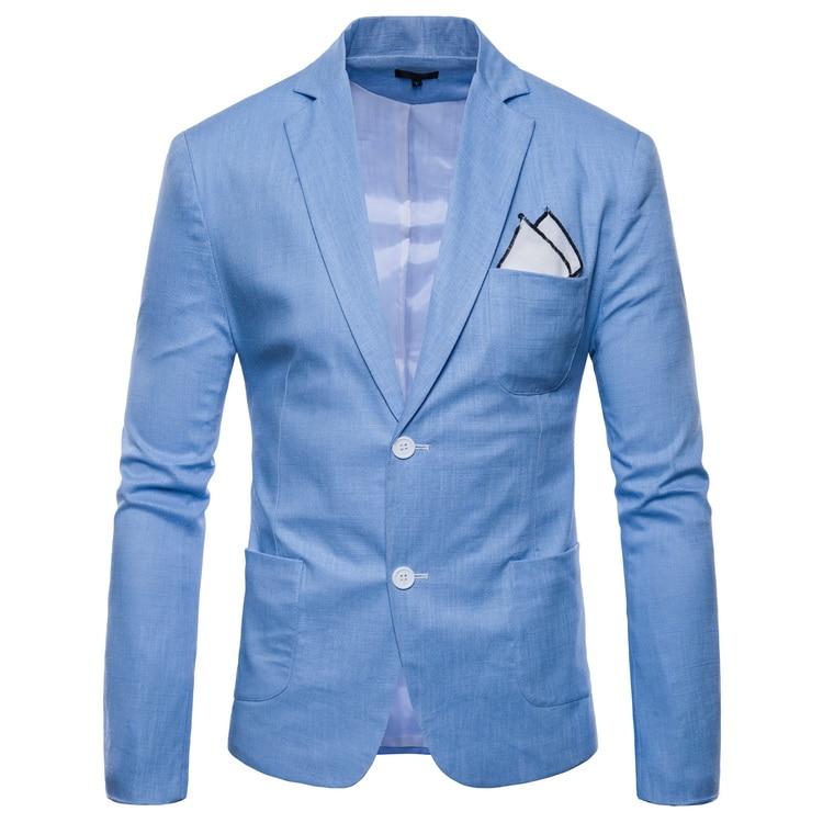 Mwxsd Mens Casual Solid Men Dress Suit Blazer Slim Fit Classic Wedding Blazer For Male Big Size 4xl