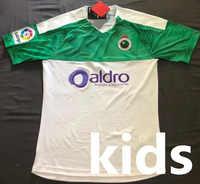 2019 pour la course Santander enfants kits ensembles de course Camiseta de futbol Camisa chemise 19 20 garçons Maillot de foot