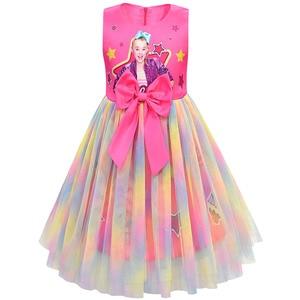 Image 3 - בנות Jojo סיווה שמלת בנות קשת Vestidos ילדים מסיבת יום הולדת שמלת ילדי שמלות בנות חג המולד JOJO סיווה נסיכת שמלה