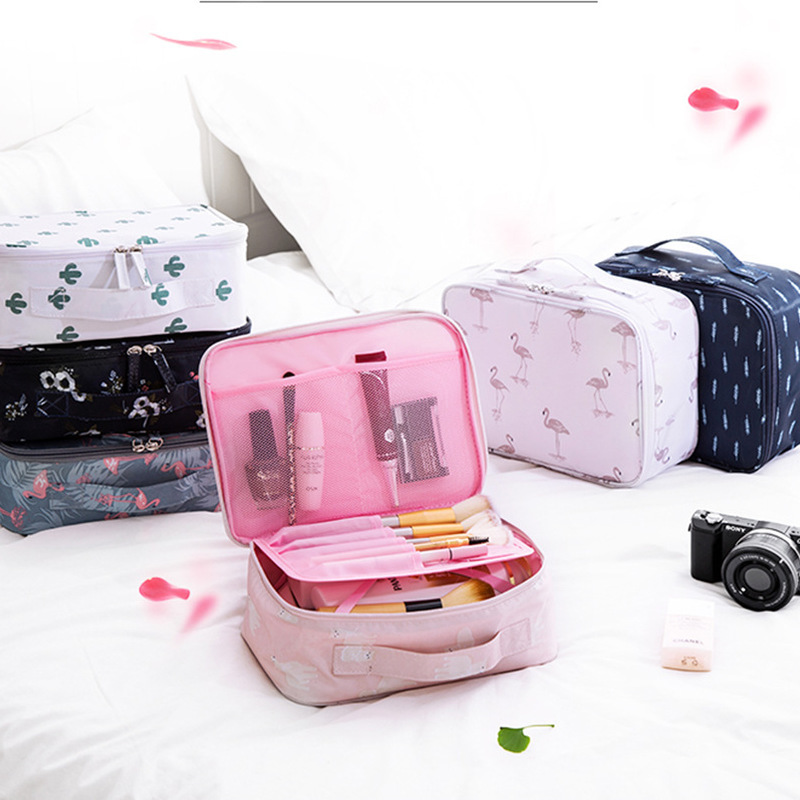 luggage organizer Travel storage bag letters car seat travel bag for airplane with wheels Portable printed wash bag