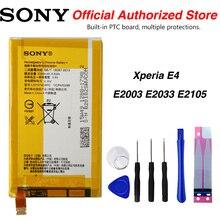 Original Sony LIS1574ERPC Battery For Sony Xperia E4 E2003 E2033 E2105 2300mAh аксессуар чехол sony xperia e4 gecko white gg f sone4 wh