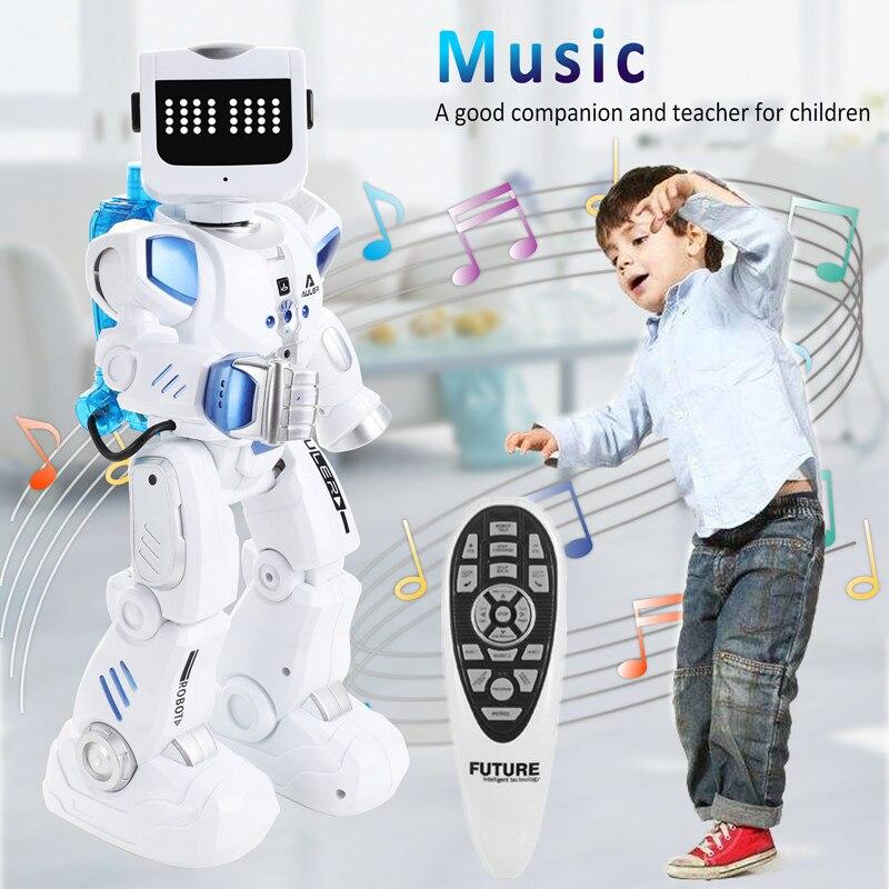 Inteligente robô alfa brinquedo hydroelectric híbrido robô inteligente rc controle de som cantando dança robô brinquedos educativos das crianças