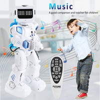 Intelligent Alpha Robot Toy Hydroelectric Hybrid Smart Robot RC Sound Control Singing Dancing Robot Children's Educational Toys