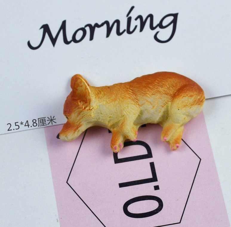สุนัข Slime Charms เรซิ่น Plasticine ภาษาฝรั่งเศส Bulldog Figurine สุนัขโกหกรุ่น Shiba Inu สุนัข Miniatures อุปกรณ์เสริมลูกปัดทำของเล่น