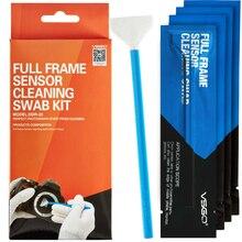 цена на VSGO sensor swab full frame cleaning DDR-23 for digital camera CMOS DSLR 10pcs 24mm