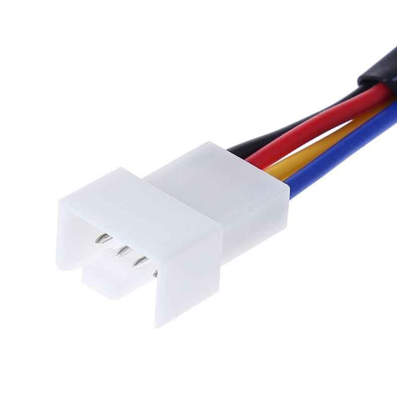 27Ω PC Fall Fan RPM Geschwindigkeit Reduktion Stille Stecker Widerstand Kabel Ruhig Modus Drop Schiff Unterstützung