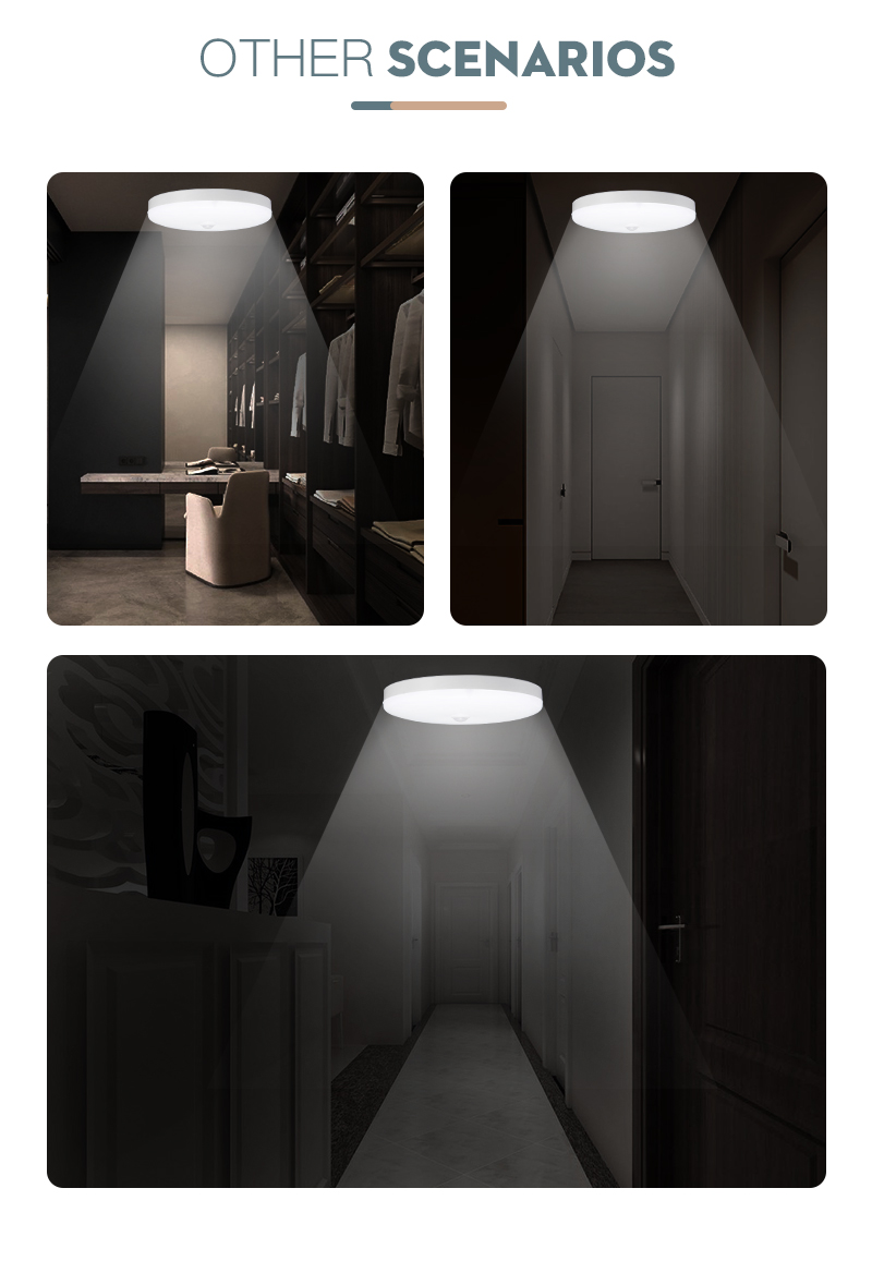 H57adbf96407447c7a2cf267603f844dfs LED Ceiling Light 220V 12W 18W 20W 50W Modern Ceiling Lamp Lights 110V Surface Mount Lighting Fixture For Living Room Bathroom