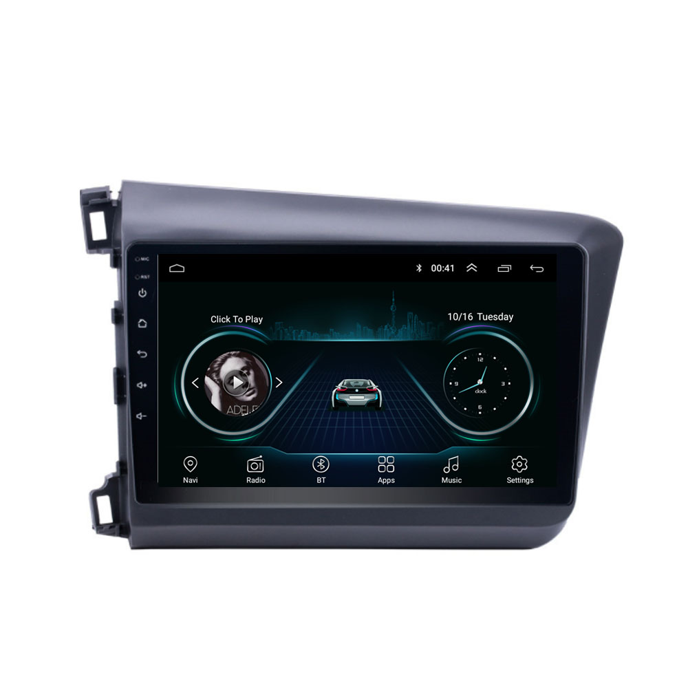 quad core <font><b>Android</b></font> 8.1 <font><b>Fit</b></font> <font><b>HONDA</b></font> CIVIC 2012 2013 2014 <font><b>2015</b></font> Multimedia Stereo Car DVD Player Navigation GPS Radio image