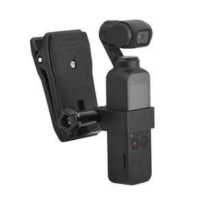Image 1 - Backpack/Bag Clamp Clip for DJI Osmo Pocket Gimbal Fixed Adapter Mount for Osmo Pocket Action Camera Backpack Holder Accessories