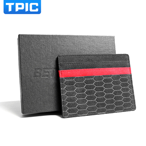 Image 5 - Alcantara Bank Credit ID Card Holder Card Package Coin Purse Men Wallet Thin Case For Mercedes W204 BMW E46 E90 Audi Mustang