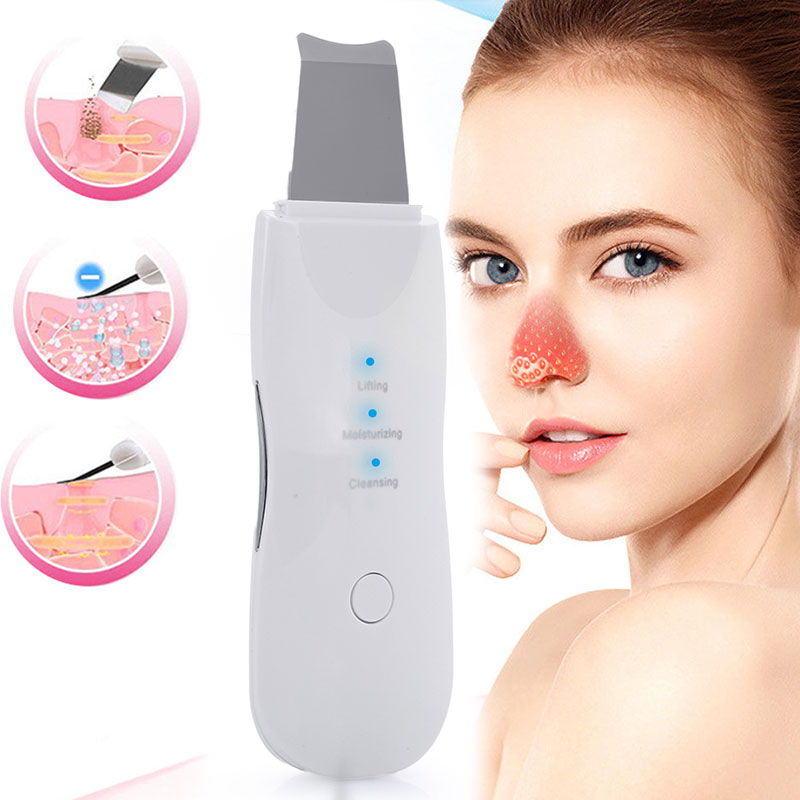 Vibrating Deep Face Cleaner Machine Skin Scrubber Remove Dirt Blackhead Grease And Makeup Dirt Facial Whitening Lifting