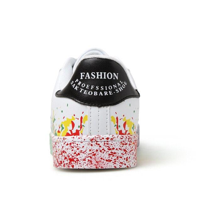 Fashion PU Graffiti Sneakers 3