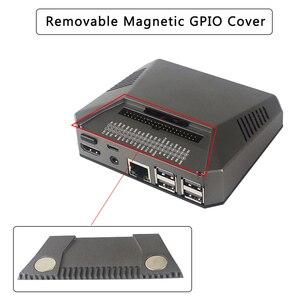 Image 2 - Argon Raspberry Pi 3 Model B + Ốp Lưng Hộp Nhôm Kim Loại + Quạt Làm Mát + Quạt Tản Nhiệt Cho Quả Mâm Xôi pi 3 B/B +