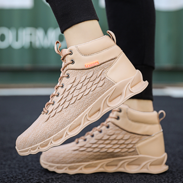 Autumn and winter shoes men outdoor sports shoes basketball shoes truck shoes mens shoes brand shoes China mens casual shoes