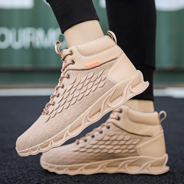 Outono e inverno sapatos masculinos ao ar livre esportes sapatos de basquete sapatos de caminhão sapatos masculinos sapatos de marca china masculino sapatos casuais