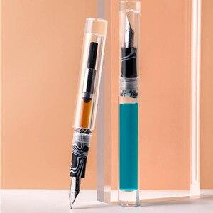 Moonman C1 большой объем чернил пипетка прозрачный фонтан глаз капельница ручка заполнения F чернильная ручка перо конвертер чернила ручка пода...