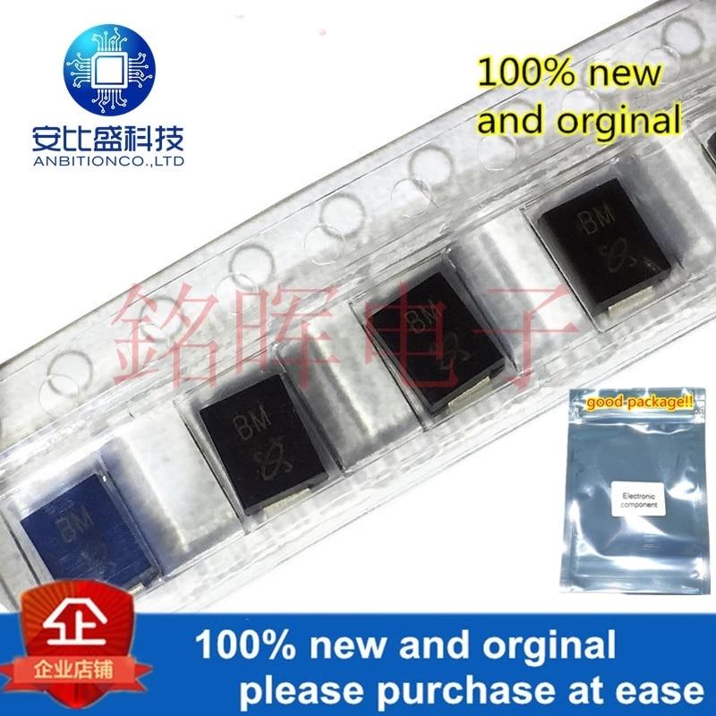 50pcs 100% New And Orginal SMBJ15CA 15V Silk-screen BM SMB DO214AB Bidirectional TVs Transient Diode In Stock