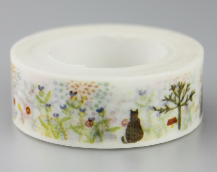 Cat Forest Washi Masking Tape(1piece)