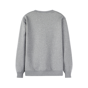 Image 4 - Pioneer Camp Warm Fleece Men Hoodies Sweatshirts no Hood Causal O neck Black Gray Winter Hoodie for Men AWY902385