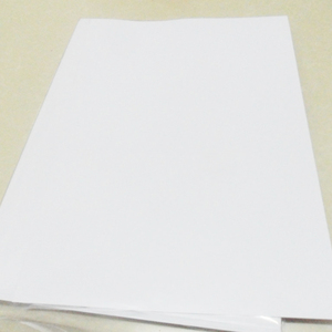Image 1 - FUNCOLOUR 40PCS A4 blank waterproof sticker paper MATTE white vinyl label for inkjet printer NEW SPECIAL MATERIAL   RJ0001