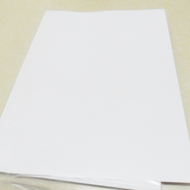 FUNCOLOUR 40PCS A4 blank waterproof sticker paper MATTE white vinyl label for inkjet printer NEW SPECIAL MATERIAL   RJ0001