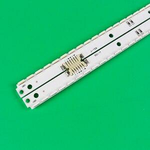 Image 2 - Nuovo kit 2 PCS 56LED 500 millimetri striscia di Retroilluminazione A LED Per Samsung UA40ES6100J UE40ES5500 2012SVS40 7032NNB RIGHT56 LEFT56 2D pannello