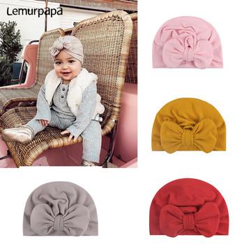 Baby Girl pałąk akcesoria do włosów Bowknot śliczne noworodka opaski Turban wiązane Baby Headwrap bandaż Baby Bows tanie i dobre opinie 0-1 M Lemurpapa Jerry Stałe nylon 1715 Dziecko dziewczyny