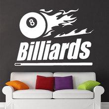 Billiards Pool Table Wall…